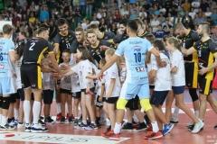 Zdjęcia z wygranego 3:2 (21:25, 25:23, 25:19, 27:29, 18:16) meczu Chemika Bydgoszcz ze Skrą Bełchatów 15.10.2018